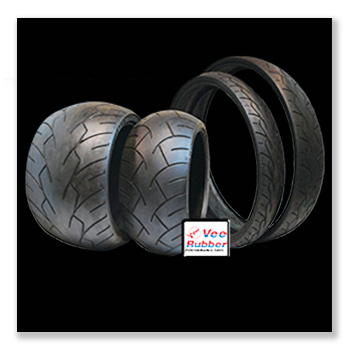 Vee Rubber Blackwall Tires